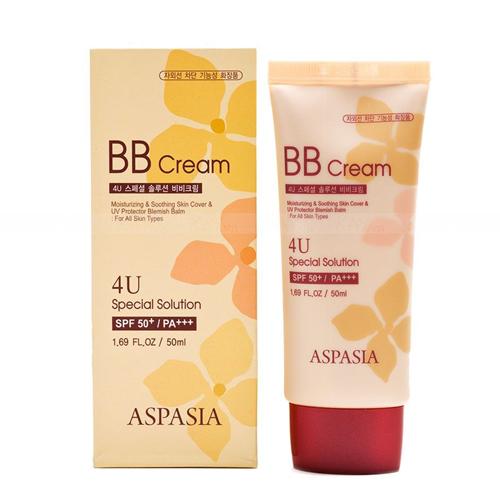 Kem Nền Chống Nắng Aspasia 4U Special B.B Solution Cream SPF50 PA