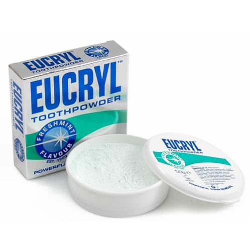 Bột Làm Trắng Răng Eucryl Toothpowder Nhập Khẩu Từ Anh