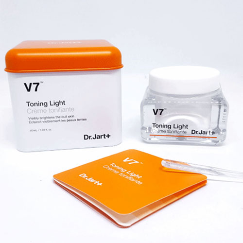 Kem Dưỡng Trắng Da Dr.Jart V7 Toning Light Hàn Quốc
