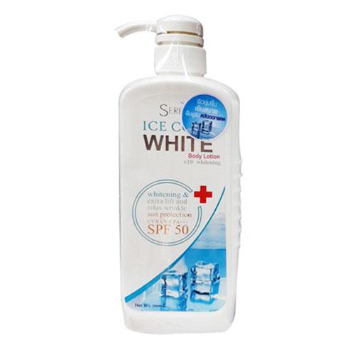 Kem Dưỡng Trắng Da Ice Cool White Body Lotion Thái Lan 700ml