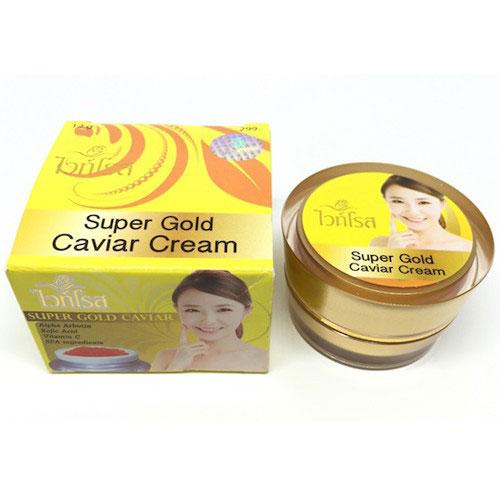 Kem Dưỡng Trắng Da Thái Lan Cao Cấp Face Super Gold Caviar