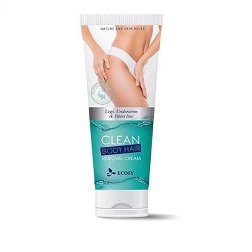 Kem Tẩy Lông Toàn Thân Ecosy Clean Body Hair Removal Cream 100ml