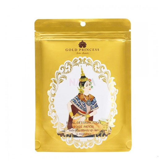 Miếng Dán Thải Độc Chân Gold Princess Royal Thái Lan