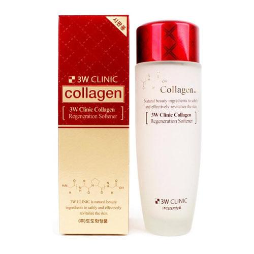 Nước Hoa Hồng Làm Sạch Da 3W Clinic Collagen 150ml