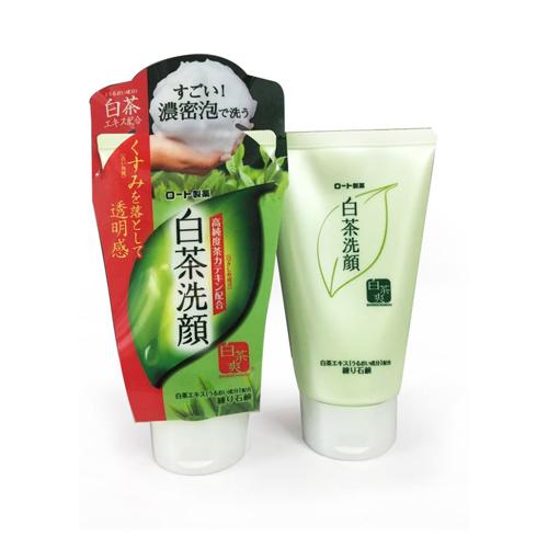 Sữa Rữa Mặt Rohto Shirochasou Green Tea Foam Chính Hãng Nhật Bản