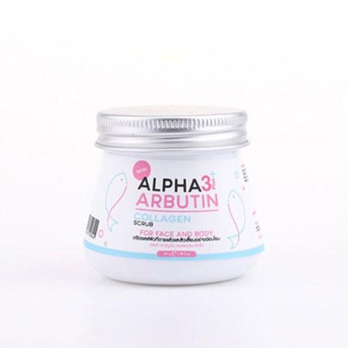 Tẩy Tế Bào Chết Mặt Và Body Alpha Arbutin Scrub 3 Plus Thái Lan Chính Hãng