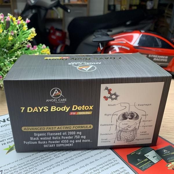 7 Days Body Detox Thanh Lọc Giải Độc Cơ Thể Hoa Kỳ 7 Days Body Detox