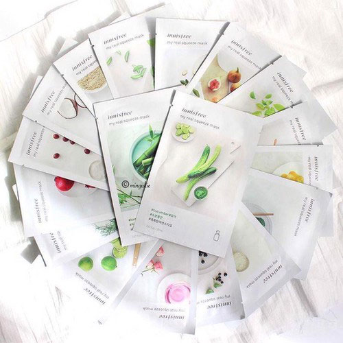 Mặt Nạ Giấy Cao Cấp Innisfree Real Squeeze Mask