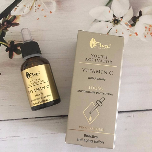 Serum Vitamin C Ava Youth Activation Dưỡng Trắng Da Chính Hãng