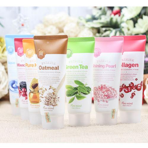 Sữa Rửa Mặt Pure Mind So Fresh Cleansing Foam Hàn Quốc