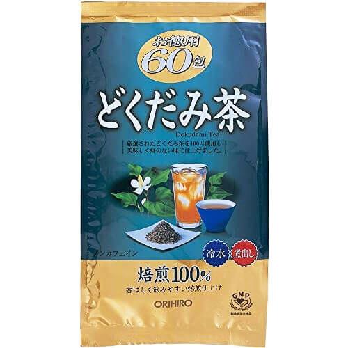 Trà Diếp Cá Thải Độc Mát Gan Orihiro Dokudami Tea Chính Hãng Nhật Bản