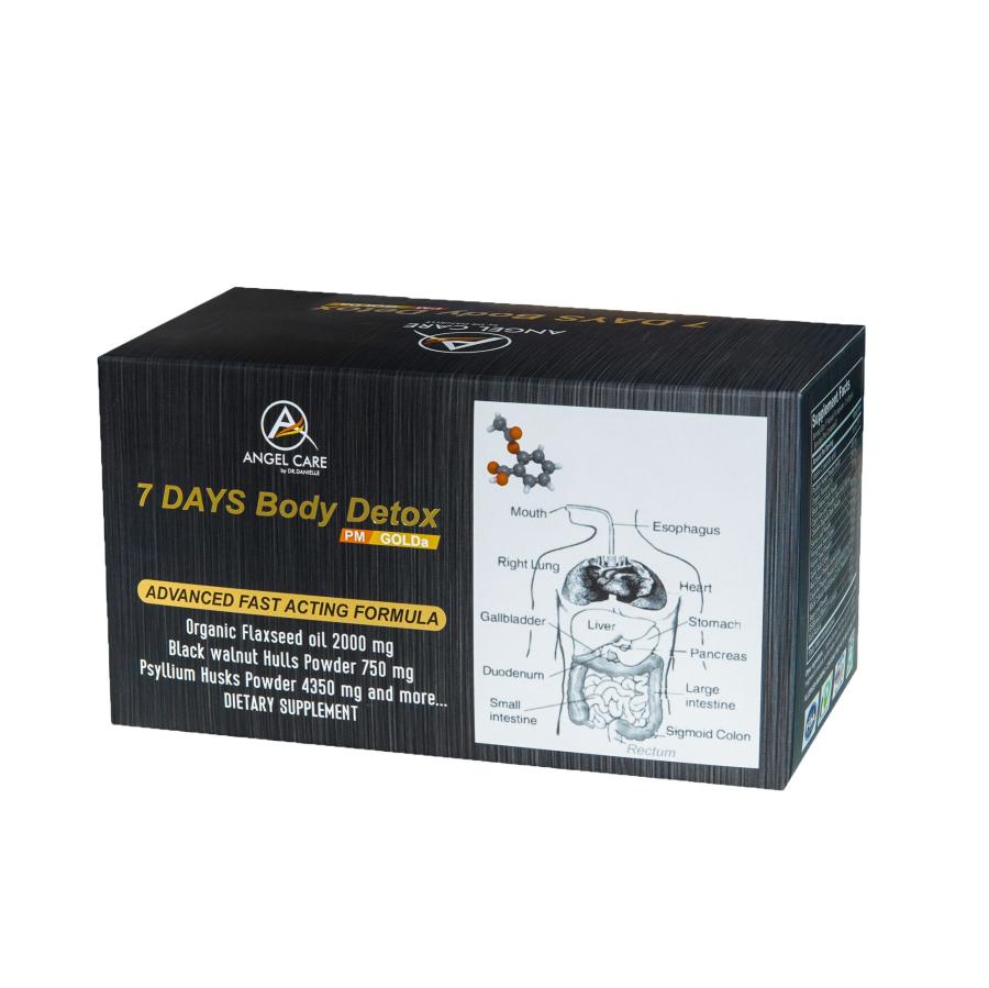 7 Days Body Detox Thanh Lọc Giải Độc Cơ Thể Hoa Kỳ 7 Days Body Detox-4
